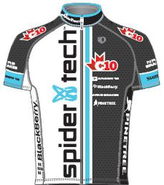 SpiderTech–C10 - Image: Spider Tech C10 jersey