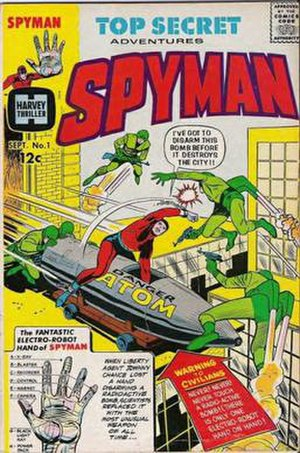 Jim Steranko - Image: Spyman 1