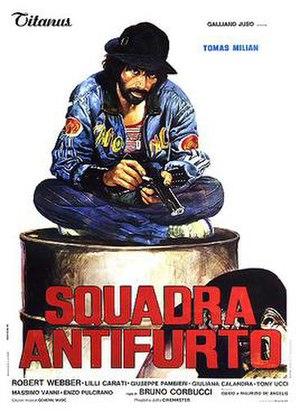 Hit Squad (film) - Italian theatrical release poster