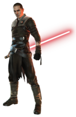 Starkiller - Starkiller in Star Wars: The Force Unleashed (2008).