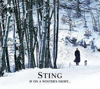 <i>If on a Winters Night...</i> album by Sting