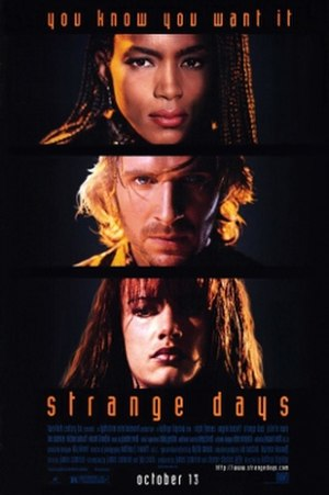 Strange Days (film) - Theatrical release poster