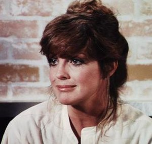 Sue Ellen Ewing - Linda Gray as Sue Ellen in the fifth season of the series.