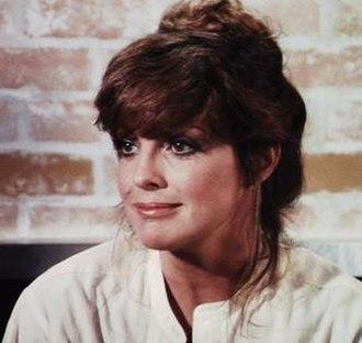 Sue Ellen Ewing - Linda Gray as Sue Ellen in the fifth season of the series.