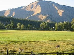 Superior, Montana - A ranch near Superior, MT.