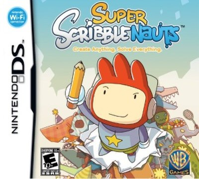 Picture of a game: Super Scribblenauts
