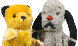 Sweep (right) and Sooty