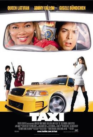 Taxi (2004 film) - Theatrical release poster