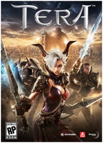 TERA (video game) - Original North American cover art