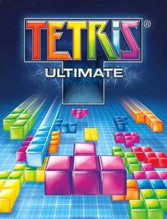Tetris Ultimate - Cover art for Tetris Ultimate
