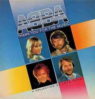 <i>Thank You for the Music</i> (album) 1983 compilation album by ABBA