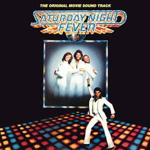 Saturday Night Fever (soundtrack) - Image: The Bee Gees Saturday Night Feveralbumcover