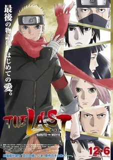 <i>The Last: Naruto the Movie</i> 2014 Japanese animated film directed by Tsuneo Kobayashi
