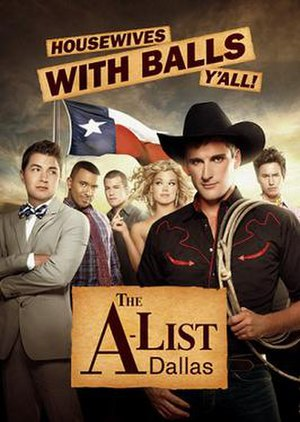 The A-List: Dallas - Promotional image of the cast