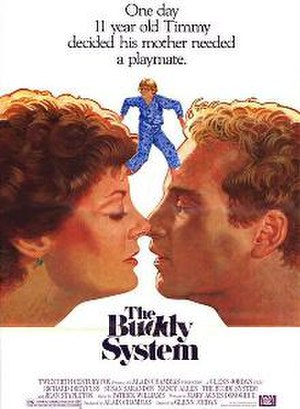 The Buddy System (film) - Theatrical release poster by Tom Jung