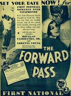 <i>The Forward Pass</i> 1929 film by Edward F. Cline