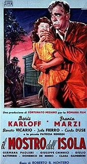 <i>The Island Monster</i> 1954 film by Roberto Bianchi Montero