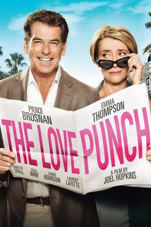 The Love Punch - Theatrical release poster