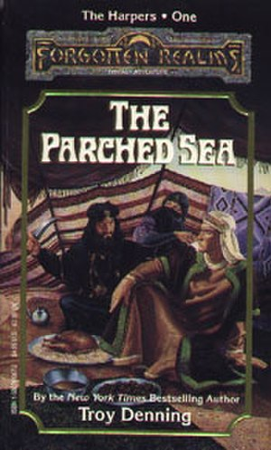 The Parched Sea - Image: The Parched Sea novel cover