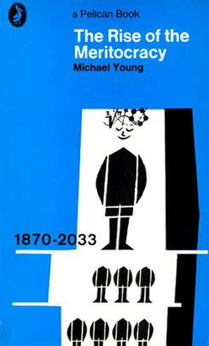 The Rise of the Meritocracy - Cover of the 1967 edition