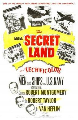 The Secret Land - Image: The Secret Land Film Poster