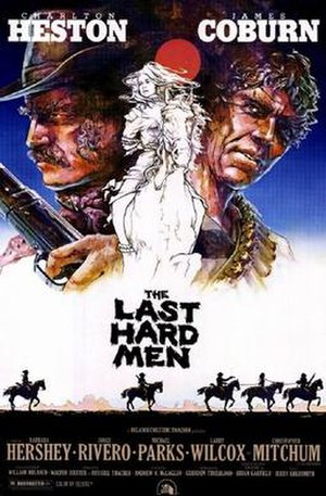 The Last Hard Men (film) - Theatrical release poster