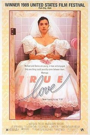 True Love (1989 film) - DVD cover