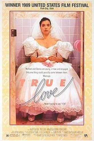 True Love (1989 film) - DVD cover