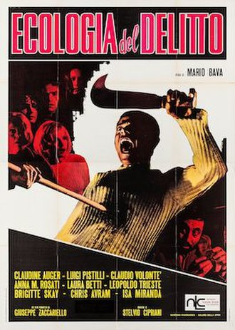 A Bay of Blood - Italian (English export) re-release film poster
