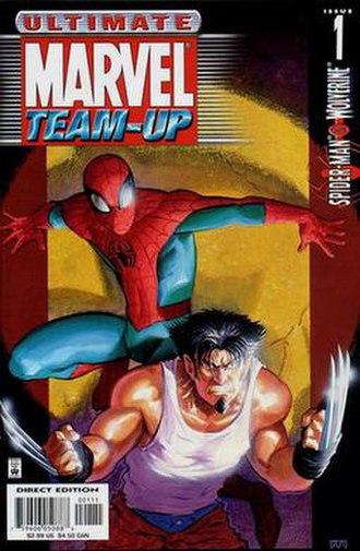 Ultimate Marvel Team-Up - Image: Ultimate Marvel Team UP TPB1 cover