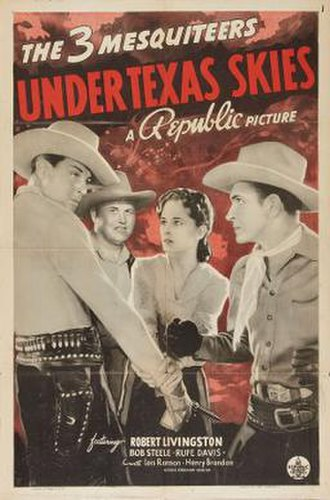 Under Texas Skies (1940 film) - Image: Under Texas Skies Film Poster