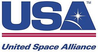 United Space Alliance - Image: United space alliance 2008 logo