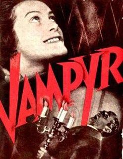 <i>Vampyr</i> 1932 film by Carl Theodor Dreyer