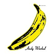 """The album cover to The Velvet Underground's 1967 debut, The Velvet Underground and Nico. The cover is so iconic that the album is often referred to as """"The Banana LP""""."""