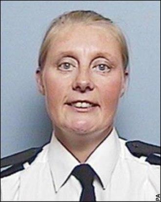 Murder of Sharon Beshenivsky - Image: WPC Sharon Beshenivsky