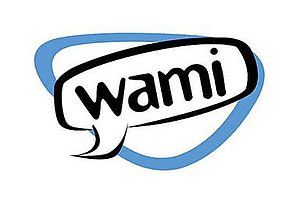 """WAMI-DT - WAMI logo; originally showing """"miami"""", it was later modified to incorporate the channel number."""