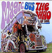 Magic Bus: The Who on Tour album cover