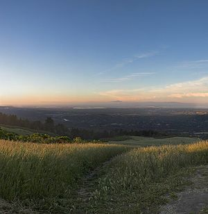 Windy Hill Open Space Preserve - Image: Windyhillbay