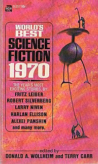 <i>Worlds Best Science Fiction: 1970</i> book by Donald A. Wollheim