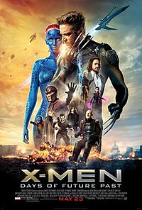 X-MEN: DAYS OF FUTURE PAST(2014) 200px-X-Men_Days_of_Future_Past_poster