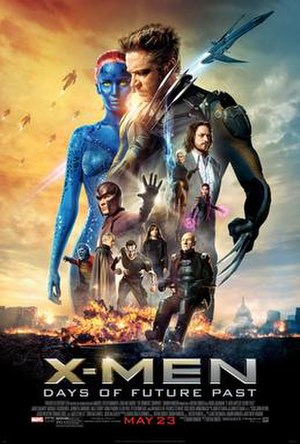 X-Men: Days of Future Past - Theatrical release poster