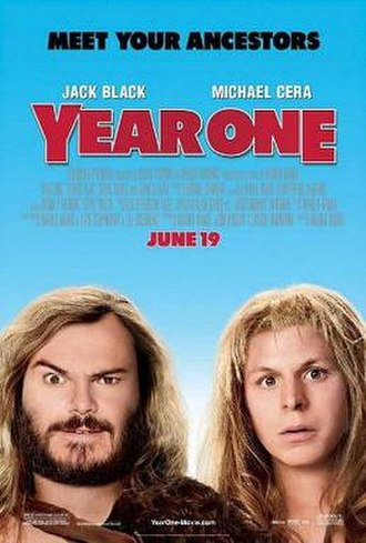 Year One (film) - Theatrical release poster