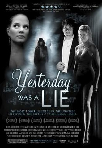 Yesterday Was a Lie - Image: Ywalposter