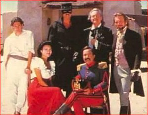 Zorro (1990 TV series) - Second season cast.