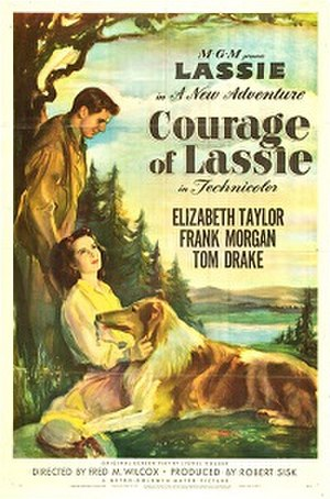 Courage of Lassie - VHS cover