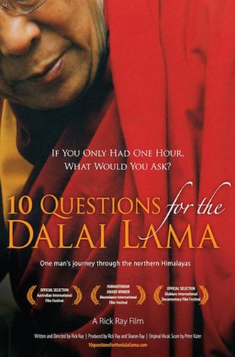 10 Questions for the Dalai Lama - Movie poster