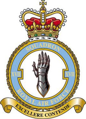 No. 17 Squadron RAF - 17 Squadron badge