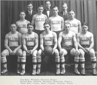 1921–22 Illinois Fighting Illini men's basketball team - Image: 1921 22 Fighting Illini men's basketball team