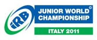 2011 IRB Junior World Championship - Image: 2011 IRB Junior World Championship logo