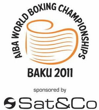 2011 AIBA World Boxing Championships - Image: 2011 World Amateur Boxing Championships logo